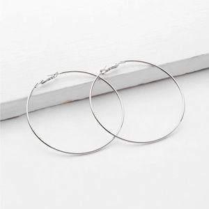 5/$12 💞 Minimalist Silver Hoop Earrings